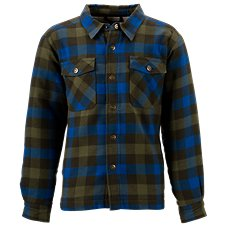 Bass Pro Shops Plaid Button-Down Shirt Jacket for Toddlers or Boys