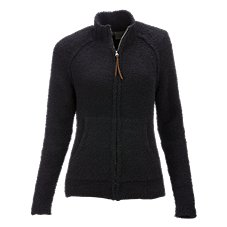 Natural Reflections Chenille Full-Zip Sweater for Ladies