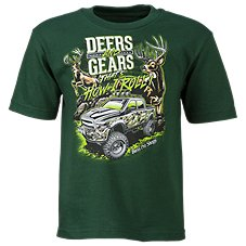 Bass Pro Shops Deers and Gears T-Shirt for Toddlers or Boys