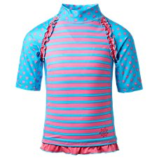 UV Skinz Short-Sleeve Sunny Swim Shirt for Toddlers or Girls