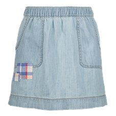 Bass Pro Shops Patchwork Denim Skirt for Toddlers or Girls