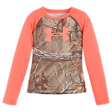 Under Armour Realtree Xtra Raglan Shirt for Toddlers or Girls