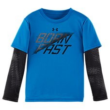 Under Armour Waffle Crew Shirt for Kids