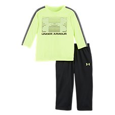 Under Armour Horizon Logo T-Shirt and Pants Set for Babies