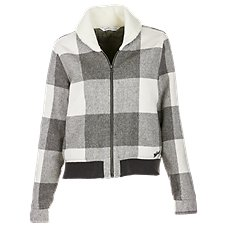 Woolrich Giant Buffalo Check Wool Jacket for Ladies