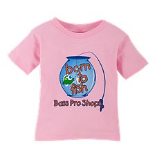 Bass Pro Shops Born to Fish T-Shirt for Babies
