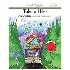 Take a Hike Adult Coloring Book by Jared Wright