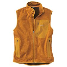 Orvis Windproof Fleece Sweater Vest for Men