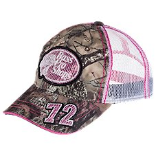 Bass Pro Shops Pink Mesh 72 Cap for Ladies