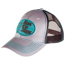 Bass Pro Shops Teal and Silver Logo Cap for Ladies