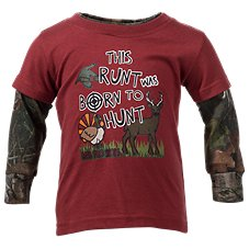 Bass Pro Shops Born to Hunt Layered T-Shirt for Baby Boys