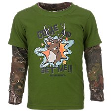Bass Pro Shops Come and Get Me Layered Shirt for Toddler Boys