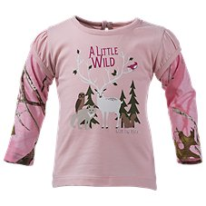Bass Pro Shops Little Wild One Layered T-Shirt for Baby Girls
