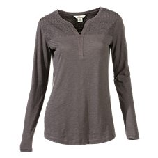 Bob Timberlake Crystal Peak Notch-Neck Top for Ladies