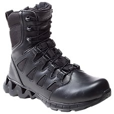 Reebok ZigKick Tactical Side-Zip Duty Boots for Men