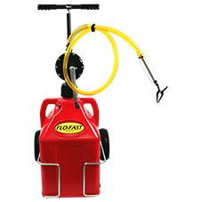 FLO-FAST Professional Model Pump, Gasoline Container and Cart System