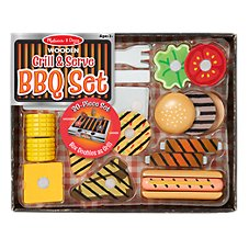 Melissa and Doug Grill & Serve BBQ Set