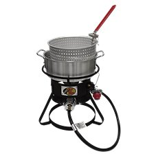 Bass Pro Shops 6.5 Qt. Aluminum Fish Fryer