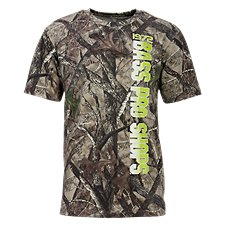 Bass Pro Shops TrueTimber HTC Camo T-Shirt with Vertical Logo for Men