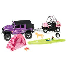 Bass Pro Shops Deluxe Jeep Wrangler Camping Adventure Truck Play Set for Kids