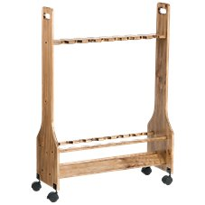 Bass Pro Shops Large Rolling Rod Rack