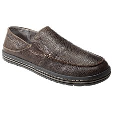 Simple Dare Leather Slip-On Loafers for Men