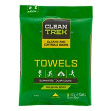Clean Trek Odor Control Body Towels
