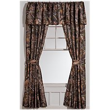 Bass Pro Shops TrueTimber Kanati Bedding Collection Drapes or Valance
