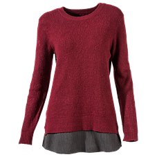 Bob Timberlake Heritage Elbow Patch Sweater for Ladies