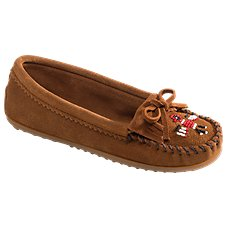 Minnetonka Moccasin Thunderbird II Moccasin Slip-On Shoes for Ladies