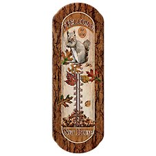 River's Edge Nut House Tin Thermometer