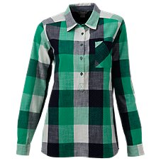 Natural Reflections Plaid Pullover Shirt for Ladies