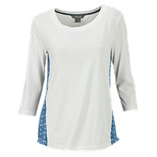 Natural Reflections Anchor Back Blouse for Ladies