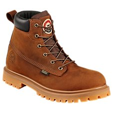 Irish Setter Hopkins Waterproof Safety Toe Leather Work Boots for Men