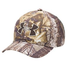 Under Armour Camo Cap for Youth