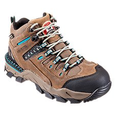 Irish Setter Two Harbors Waterproof Safety Toe Work Boots for Ladies