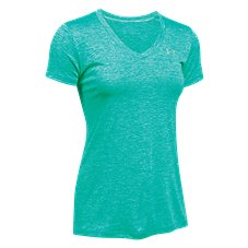 Under Armour Novelty Tech V-Neck T-Shirt for Ladies