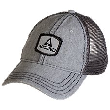 Ascend Frayed Logo Cap