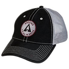 Ascend Twill Circle Logo Cap