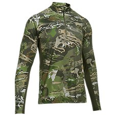 Under Armour CoolSwitch Camo 1/4 Zip for Men