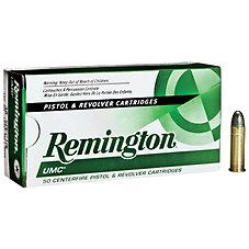 Remington UMC Centerfire Handgun Ammo