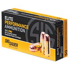 Sig Sauer Elite Performance FMJ Handgun Ammo