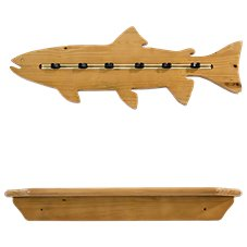 Organized Fishing Fish Wall Rack