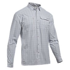Under Armour Fish Hunter Plaid Long-Sleeve Shirt for Men