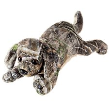 Bass Pro Shops CamoWild Plush Stuffed Lab