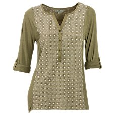 Bob Timberlake Clover Field Henley for Ladies