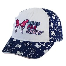 Bass Pro Shops All Over Butterfly Cap for Toddler Girls