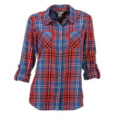 Natural Reflections Plaid Shirt for Ladies