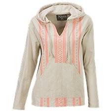 Natural Reflections Embroidered Hoodie for Ladies