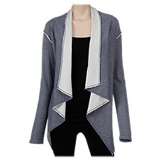 Natural Reflections Open-Front Cardigan for Ladies